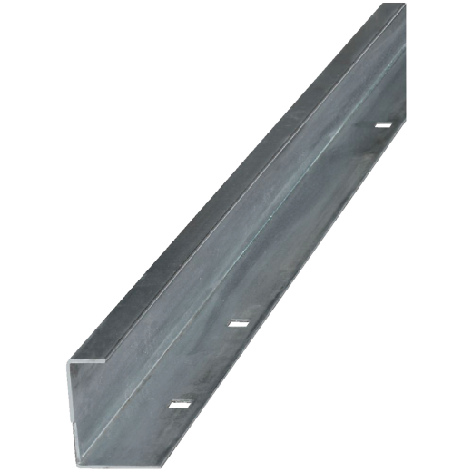 National 6 Ft. Galvanized Barn Door Guide Rail