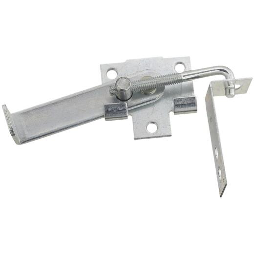 National Zinc-Plated 4 In. Steel Barn Door Latch