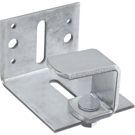 National Zinc-Plated Adjustable Barn Door Bumper Stop
